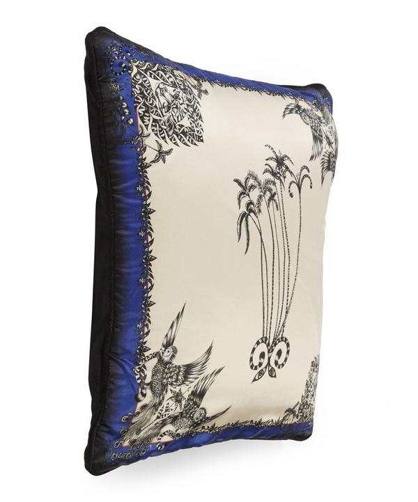 Emma J Shipley Amazon Palms Cushion