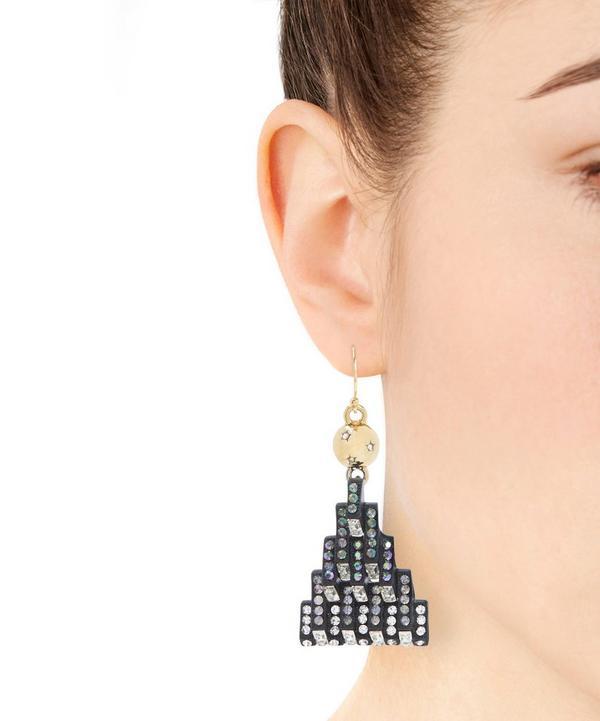 Aurora Swarovski Stone Earrings