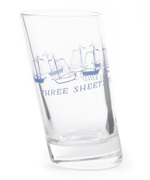 Three Sheets To The Wind Glass