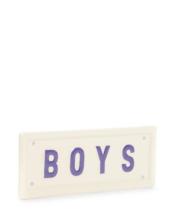 Boys Sign