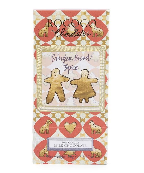 Gingerbread Spiced Milk Chocolate