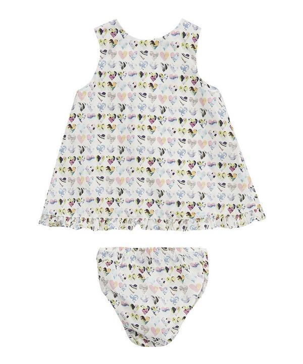 Hearts Baby Wrap Dress