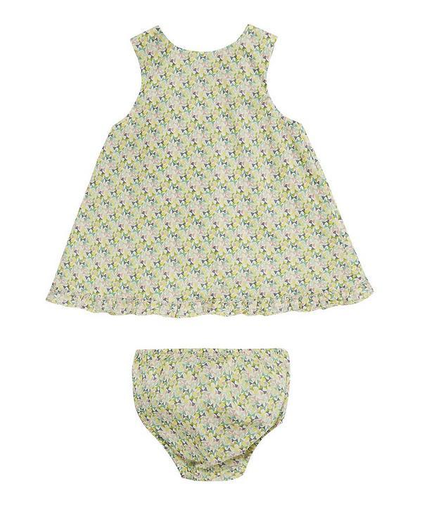 Fluttering Baby Wrap Dress