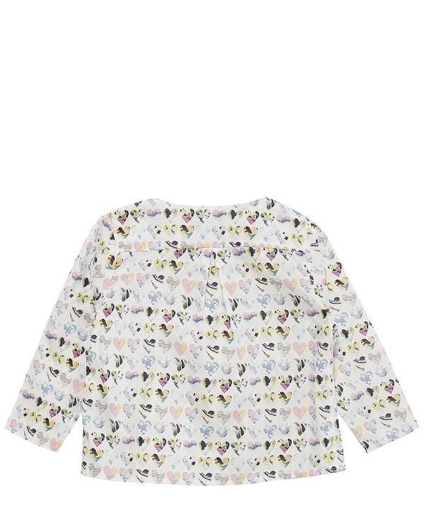 Hearts Baby Blouse