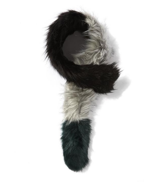 Faux Fur Popsicle Stole