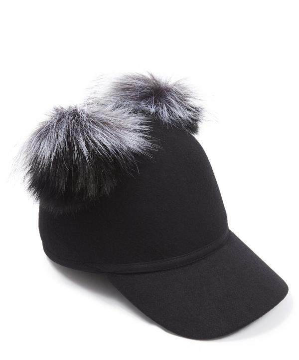 Pom Pom Detail Cap