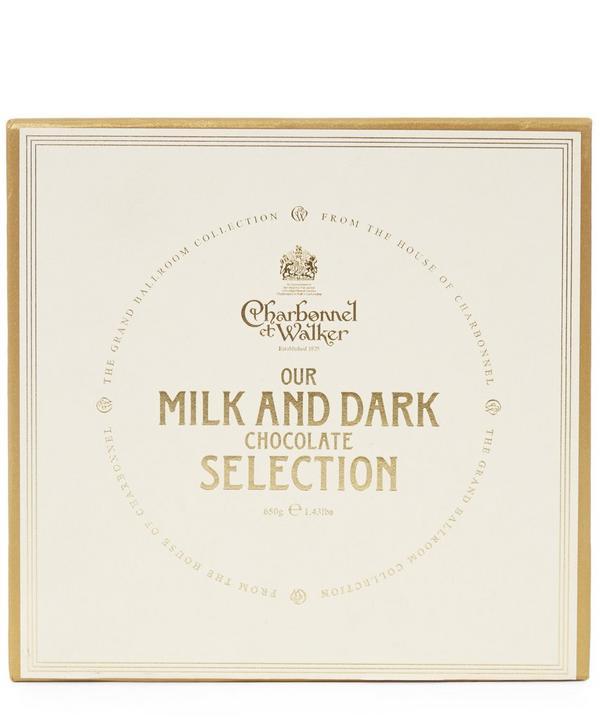 The Grand Ballroom Milk and Dark Chocolate Selection