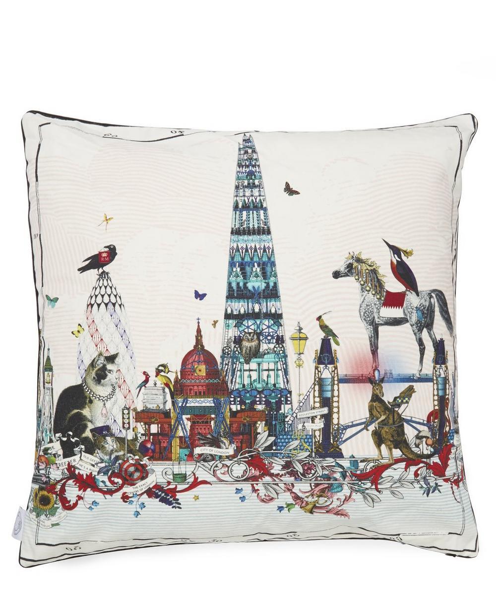 Shard Skyline Cotton Cushion