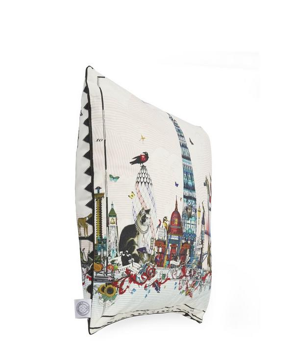 Shard Skyline Cotton Cushion