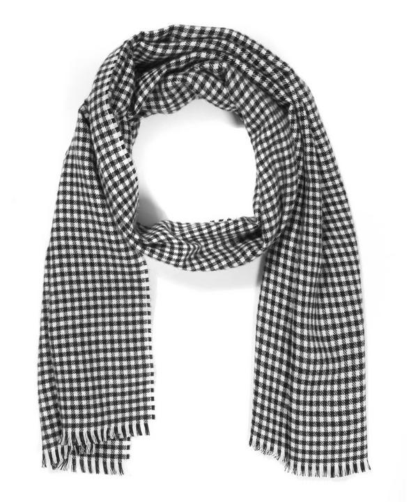 Gingham Checked Scarf