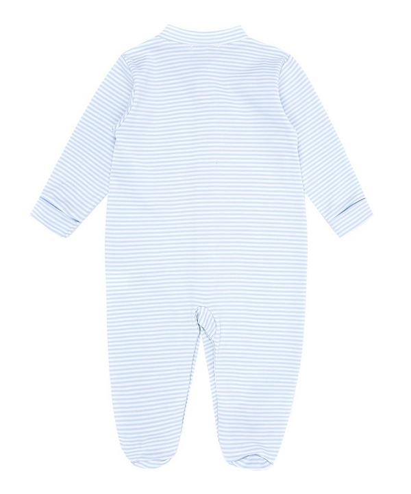 Simple Stripe Footie