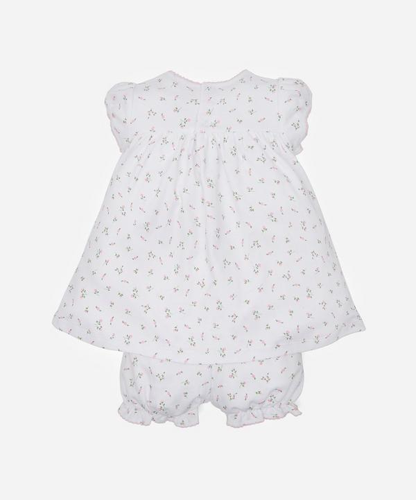 Garden Roses Print Dress and Bloomers