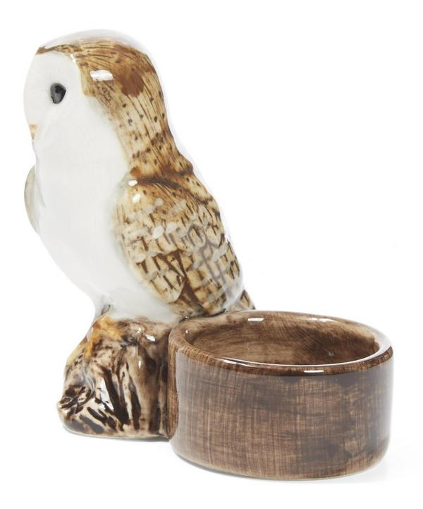 Barn Owl Tealight Holder
