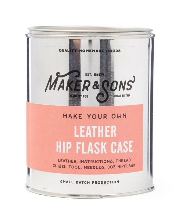Make Your Own Hip Flask Case Kit