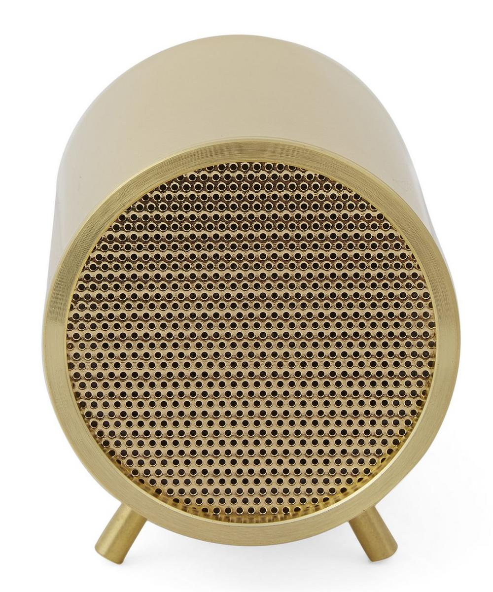 Brass-Plated Tube Audio Speaker