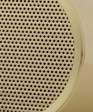 Brass-Plated Tube Audio Speaker