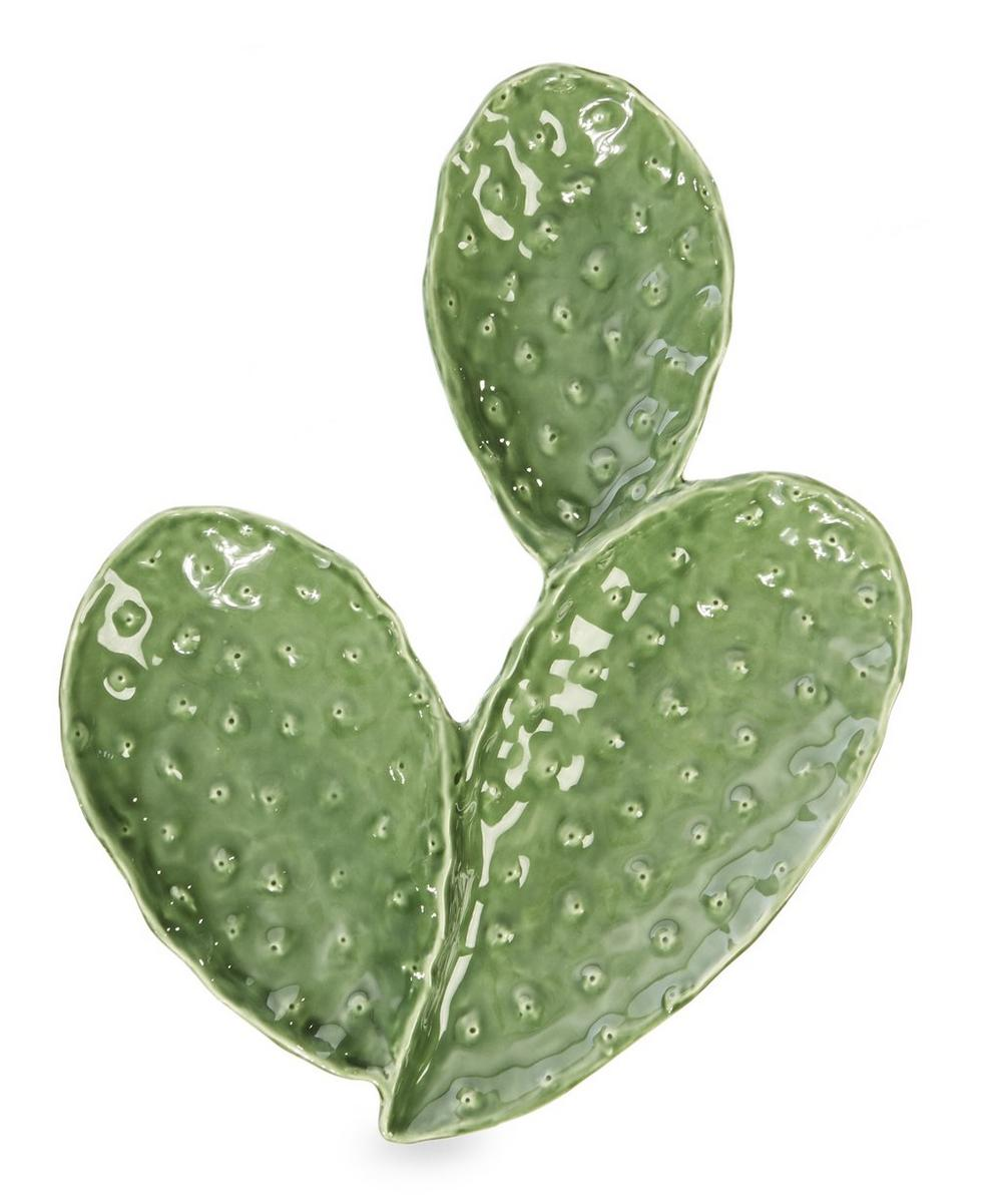 Three Leaf Cactus Plate
