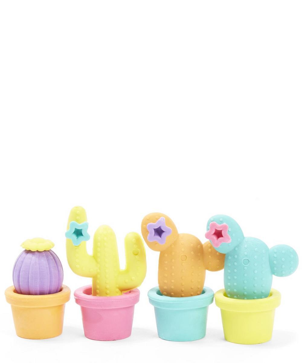 Cool Cactus Erasers