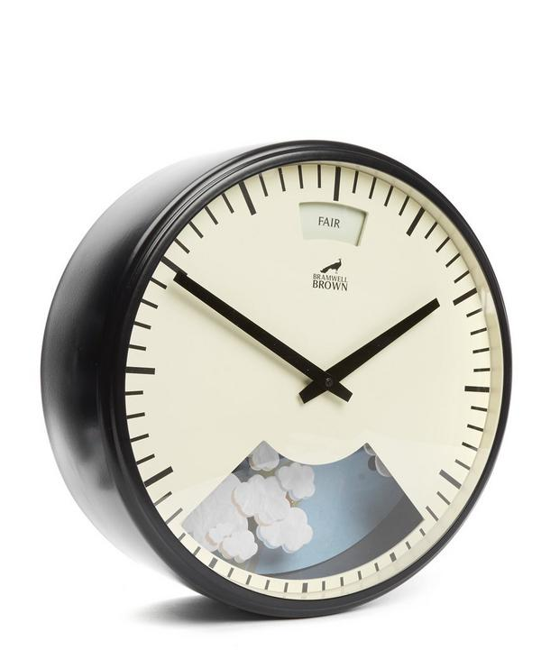Contemporary Weather Clock
