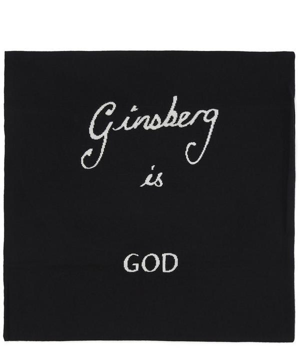 Ginsberg Is God Cushion