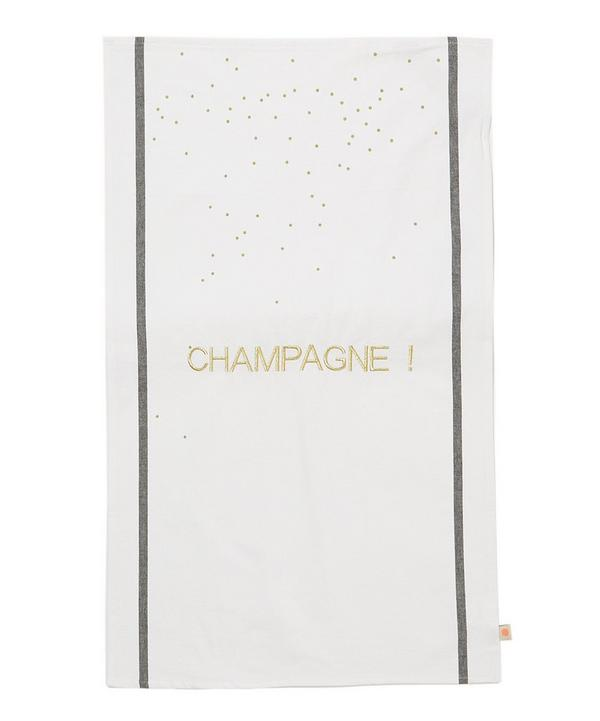 Champagne Tea Towel