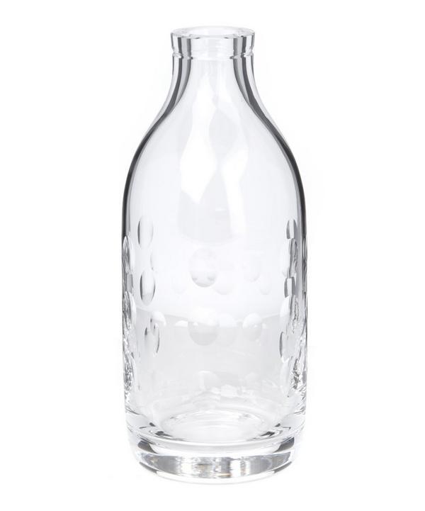Dot Crystal Milk Bottle