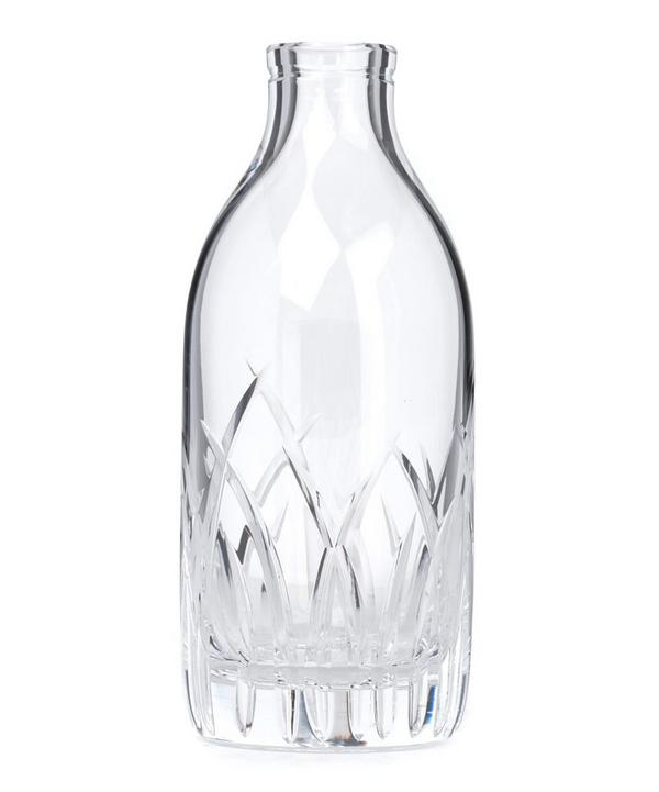 Crystal Fern Milk Bottle