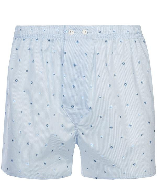 Star and Circle Print Classic Boxer Shorts