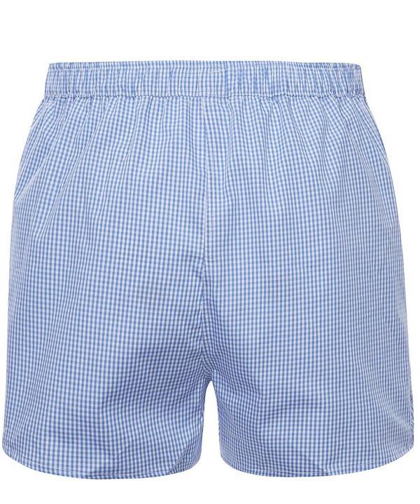 Gingham Boxer Shorts
