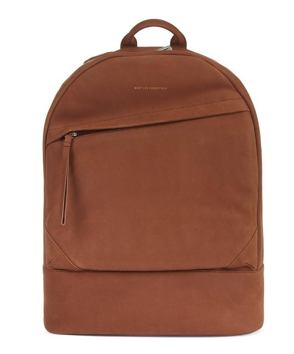Organic Kastrup Suede Backpack