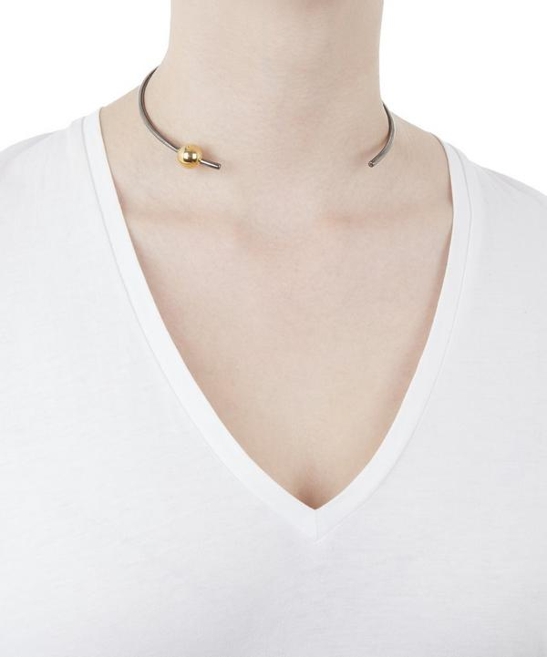 Gold and Rhodium-Plated Orion Choker