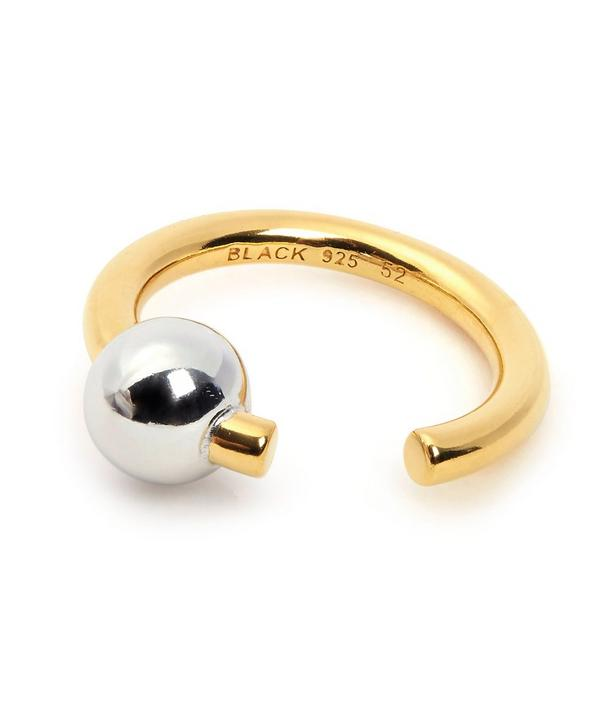 Maria Black Gold and Silver Orion Ring