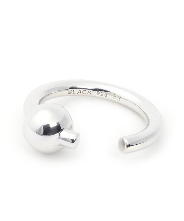 Maria Black Silver Orion Ring