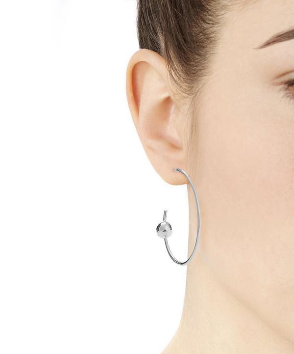Silver Orion Maxi Hoop Earring