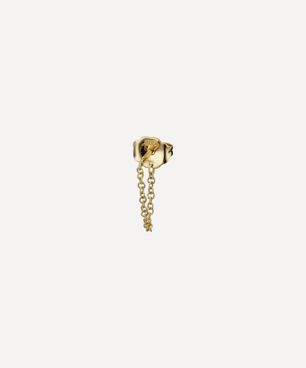 Medium 22mm Chain Wrap Stud Earring