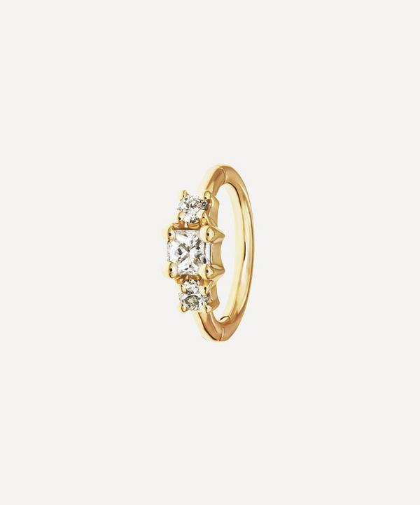 2mm Diamond Princess Ring