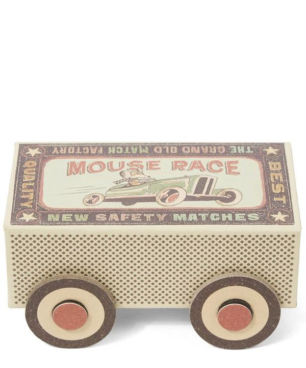 Winter Racer Matchbox Mouse Toy