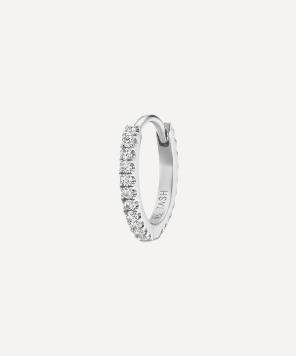 "5/16"" Diamond Continuous Eternity Earring"