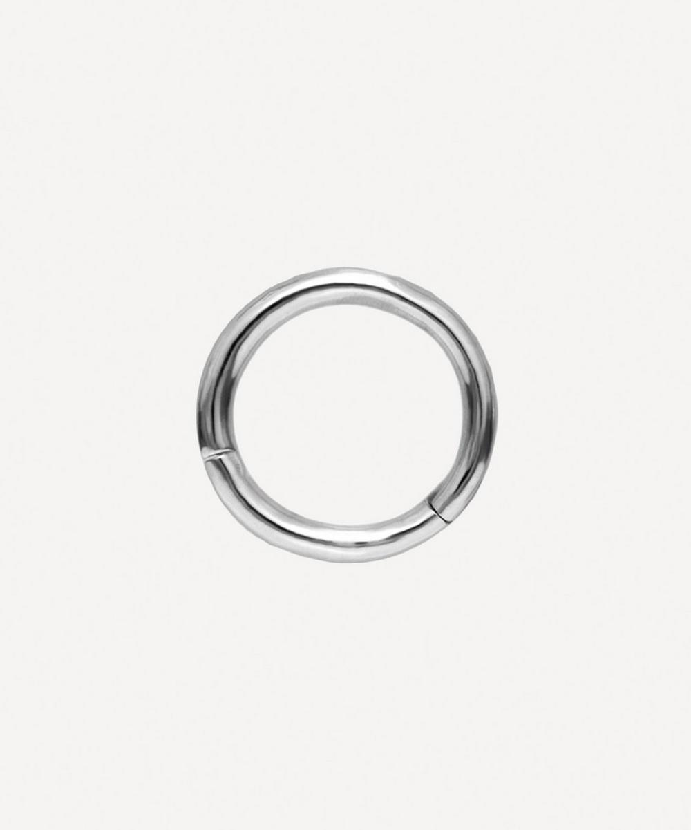1/4' Plain Hoop Earring