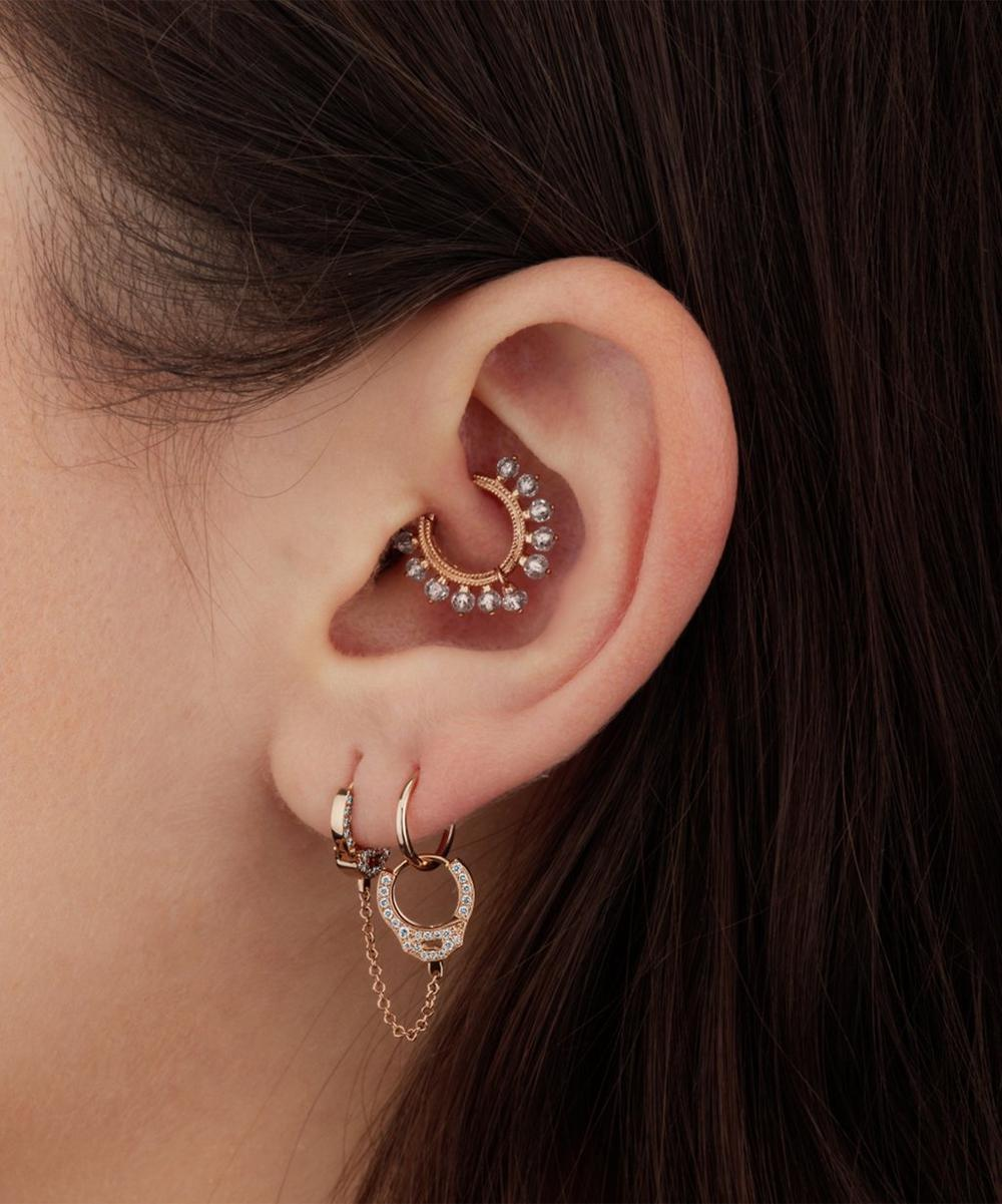 "5/16"" Plain Clicker Earring"