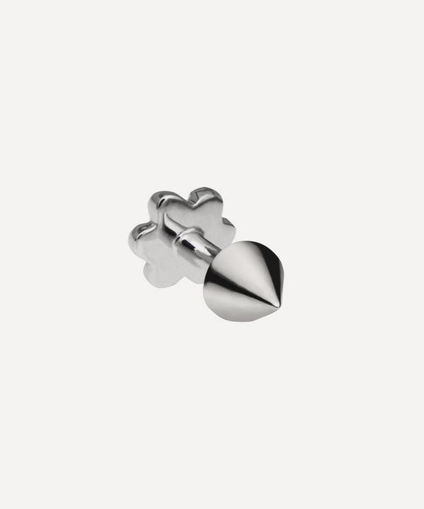 3.5-2.5mm Spike Threaded Stud Earring
