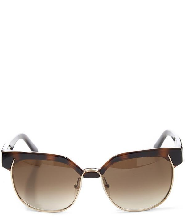 Angular Acetate Sunglasses