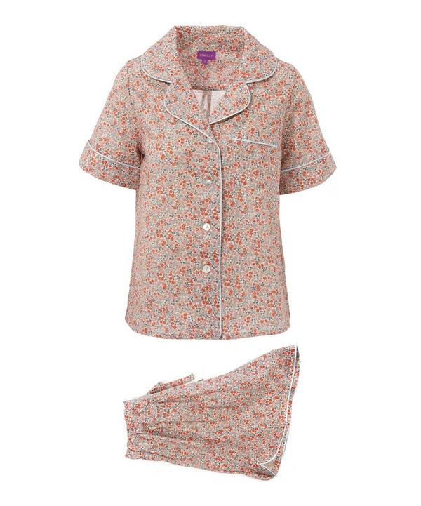 Emilias Flowers Short Cotton Pyjama Set