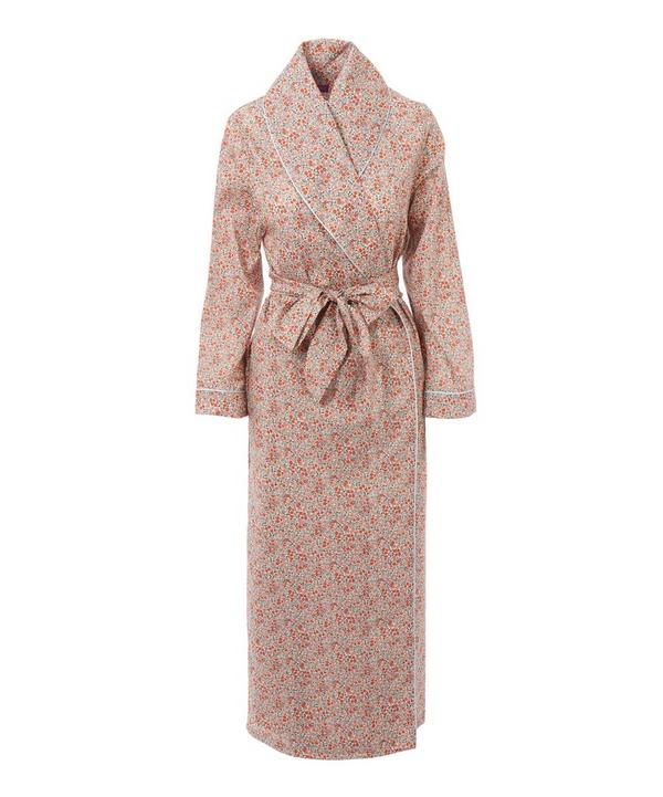 Emilias Flowers Long Cotton Robe