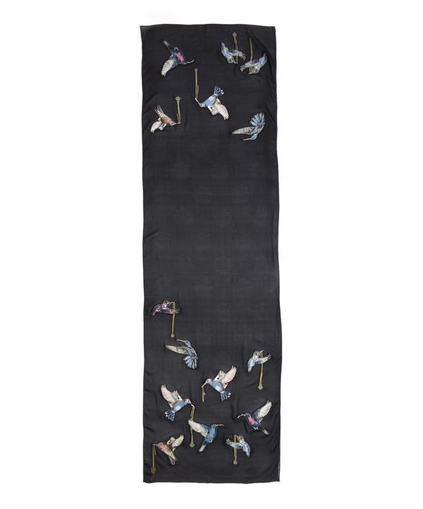 Hummingbird Fil Coupe Scarf