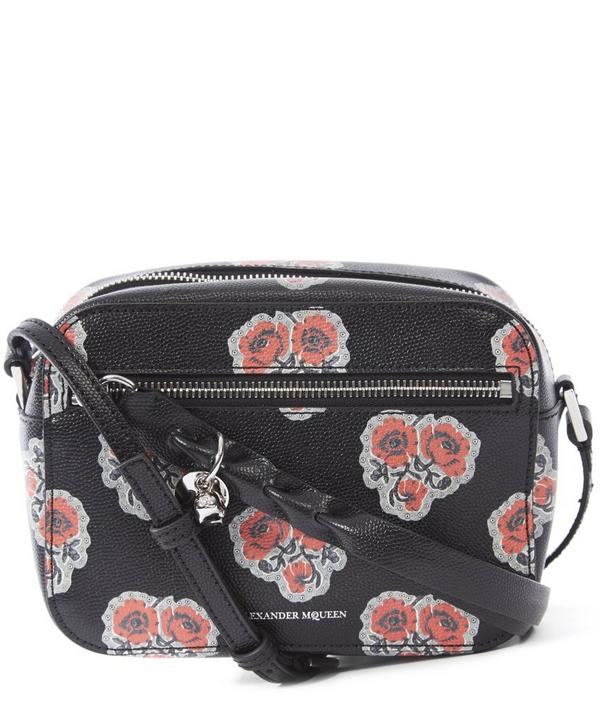 Poppies Skull Camera Bag