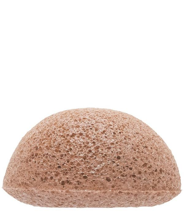 Facial Puff Sponge with Pink Clay