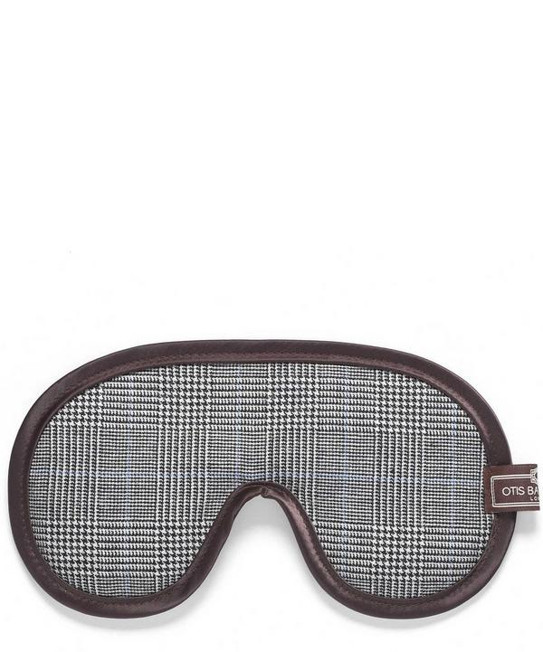Prince of Wales Print Eye Mask