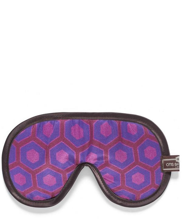 Cravat Print Eye Mask