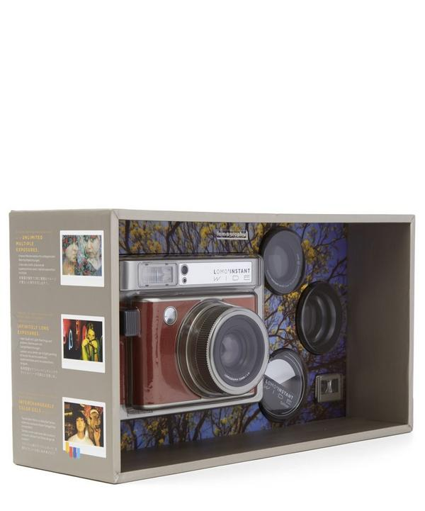 Lomo'Instant Wide Camera Central Park Creative Kit